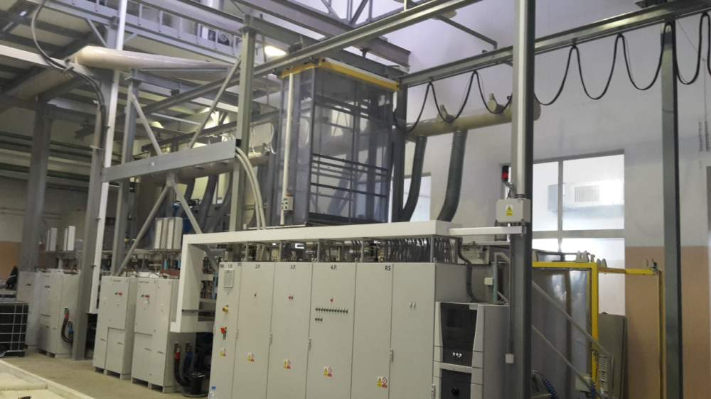 Buy Galvanic tinning lines, copper plating and plating under HTO