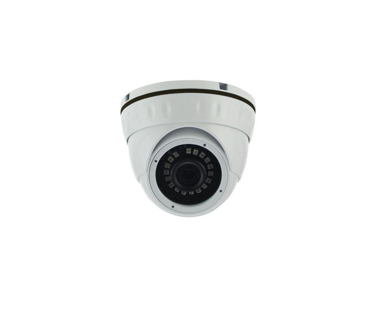 Антивандальная купольная камера - 1.0 mpx - объектив 2.8mm - IR 20m