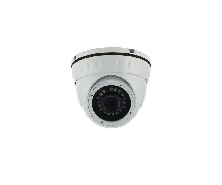 Антивандальная купольная камера - 2.1 mpx - объектив 2.8mm - IR 20m
