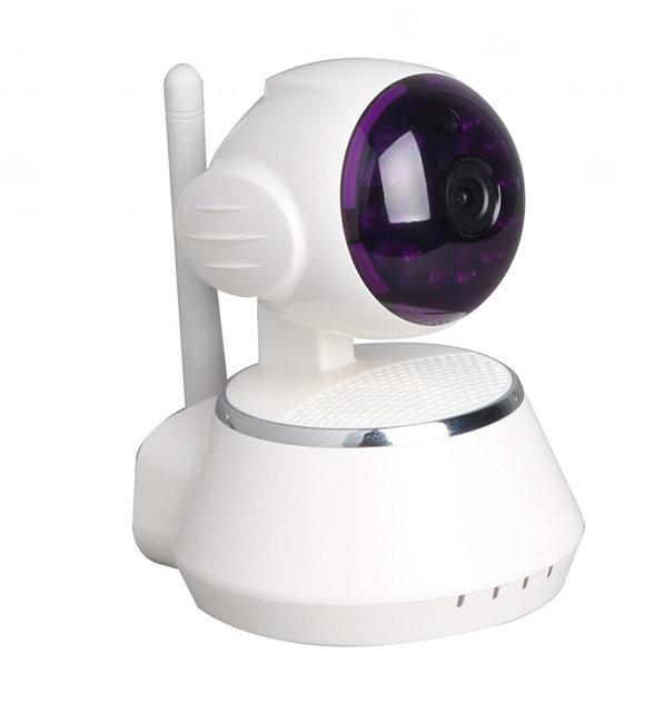 Беспроводная поворотная Wi-Fi IP камера - HD разрешение