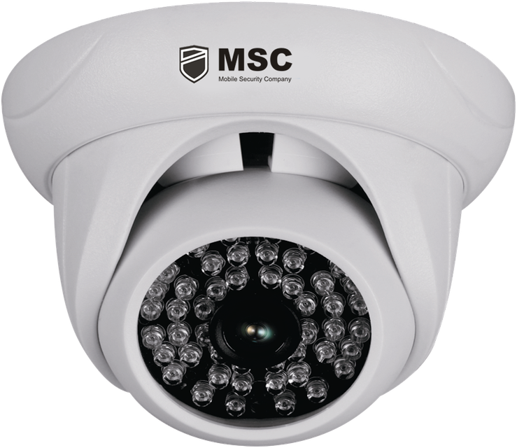 Купольная IP камера, 1,3MP, (960P), с ночным видением 40 м
