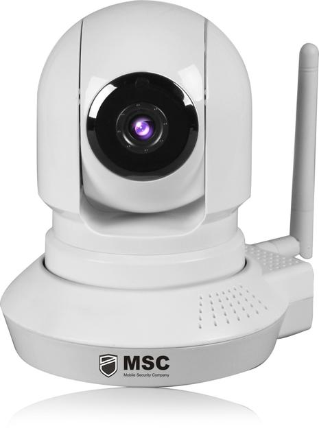 Компактная поворотная Wi-Fi IP камера c записью на SD карту