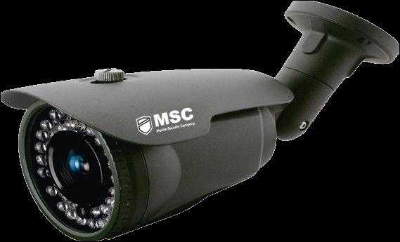 Уличная IP видеокамера 5,3 Мп (H.265)