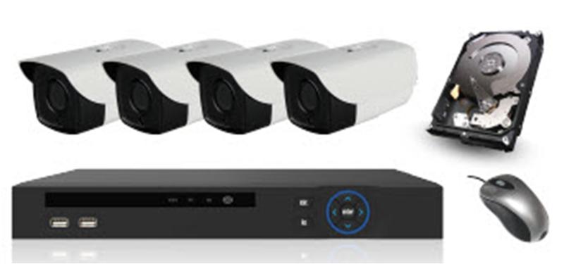 Купить Комплект HD-IP камер - 1.0 mpx НОВОГО ПОКОЛЕНИЯ
