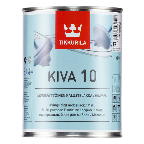 Is Tinted acrylic lacquer mat Kiva, 2 7 kg