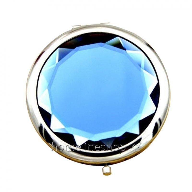 Pocket mirror double with magnification