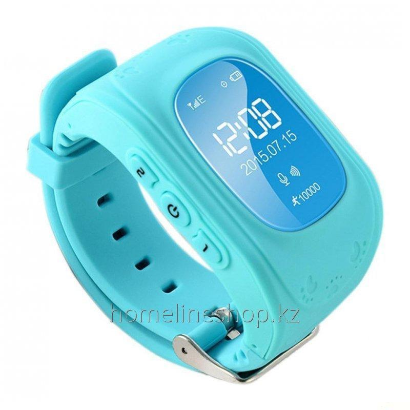 Детские смарт-часы Q50 с GPS цвет голубой