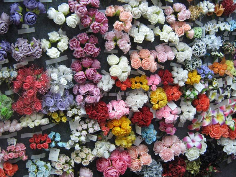 Где купить оптом искусственные цветы
