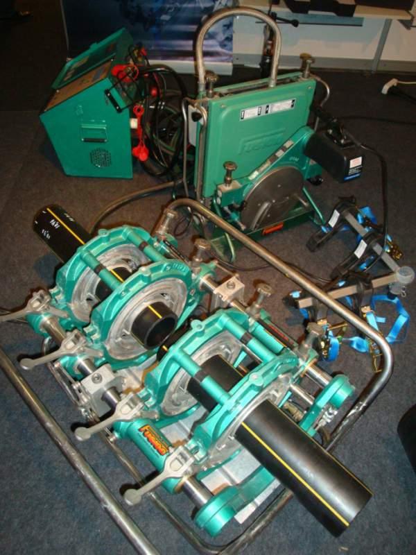 Купить Сварочный аппарат для соединения полиэтиленовых труб встык