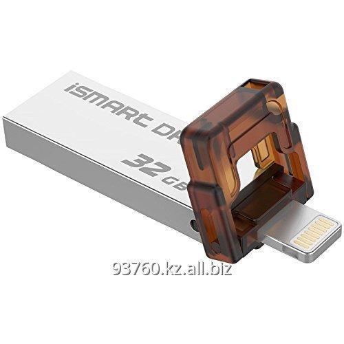 Купить Универсальный флеш-накопитель lightning + USB 2.0, 2 в 1 32G, Gold