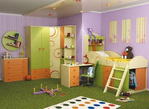 Детский спальный гарнитур Фруттис