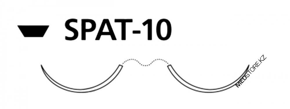 Купить Викрил неокрашенный М1 (5/0) 45см две иглы шпательные SPAT-10