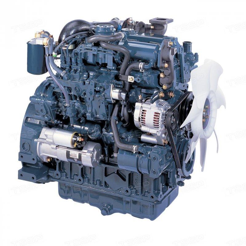 Купить Двигатель Kubota V2607 DI-T, Kubota V3307 DI-T