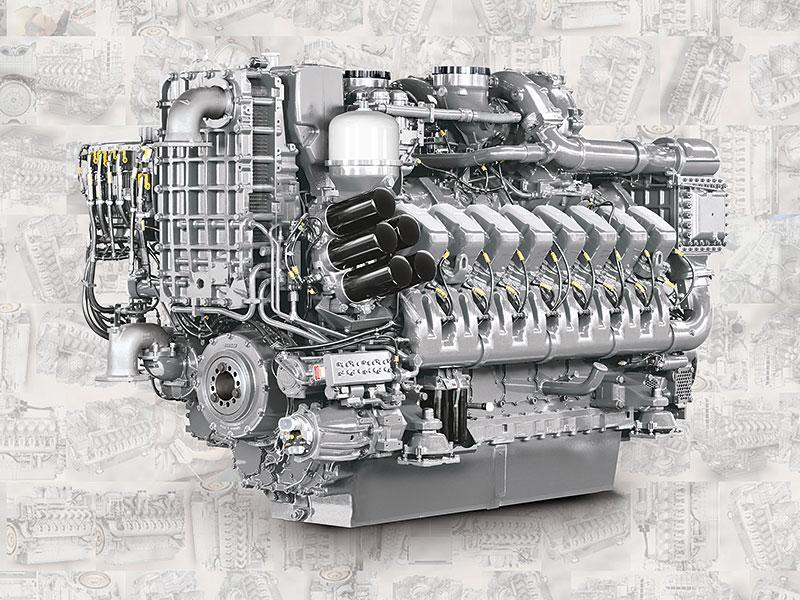 Купить Двигатель MTU 20V4000 C23, MTU 20V4000 C22
