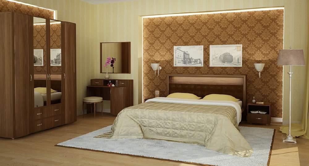 Спальный гарнитур Ника - Премиум