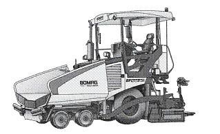 Купить Колёсный асфальтоукладчик BOMAG BF 300 Р