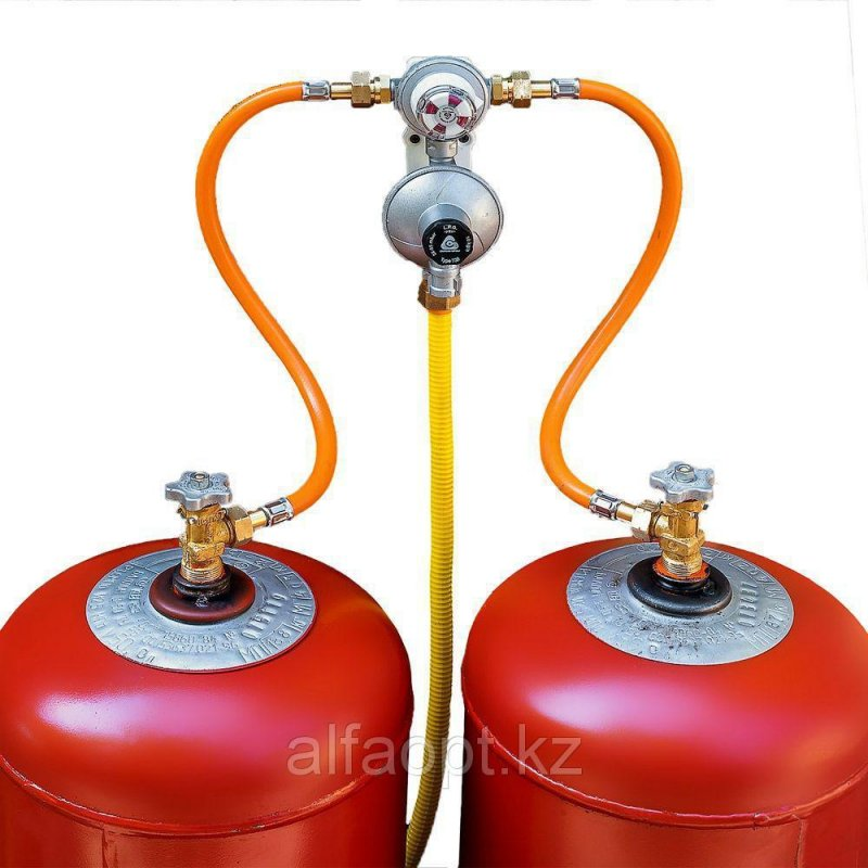 Газовая рампа на 2 баллона