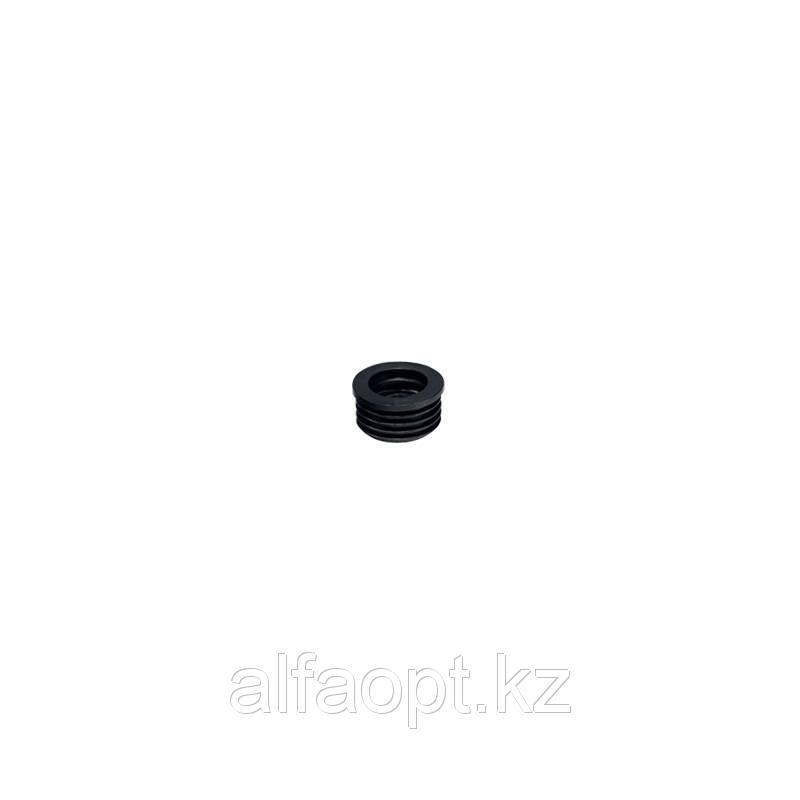 Манжета резиновая переходная Дн 73-40 ПП40 в раструб ЧК50 чёрн