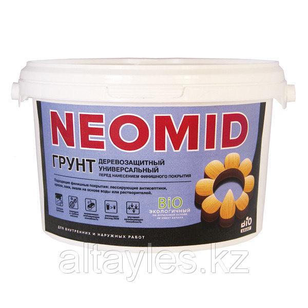Купить Грунт антисептический Neomid для деревянных поверхностей 1 литр