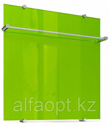 Полотенцесушитель электрический Flora 60x60 Зеленый