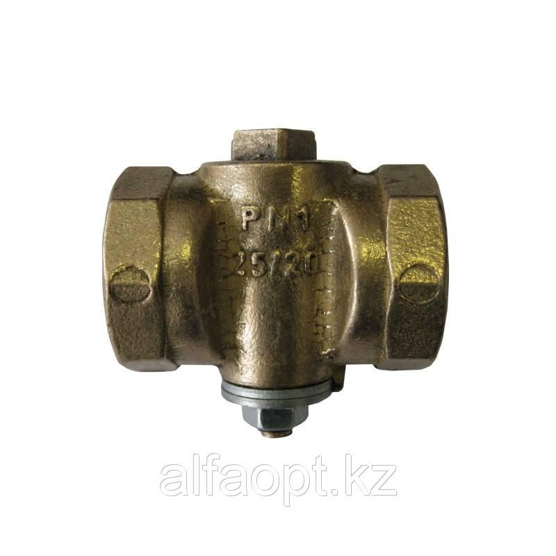 Кран латунный газовый 11Б39бк Ду 25/20 PN1 натяжной стандартный проход