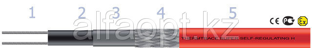 10TTS-2-BOT кабель ThermTrace® SUPER