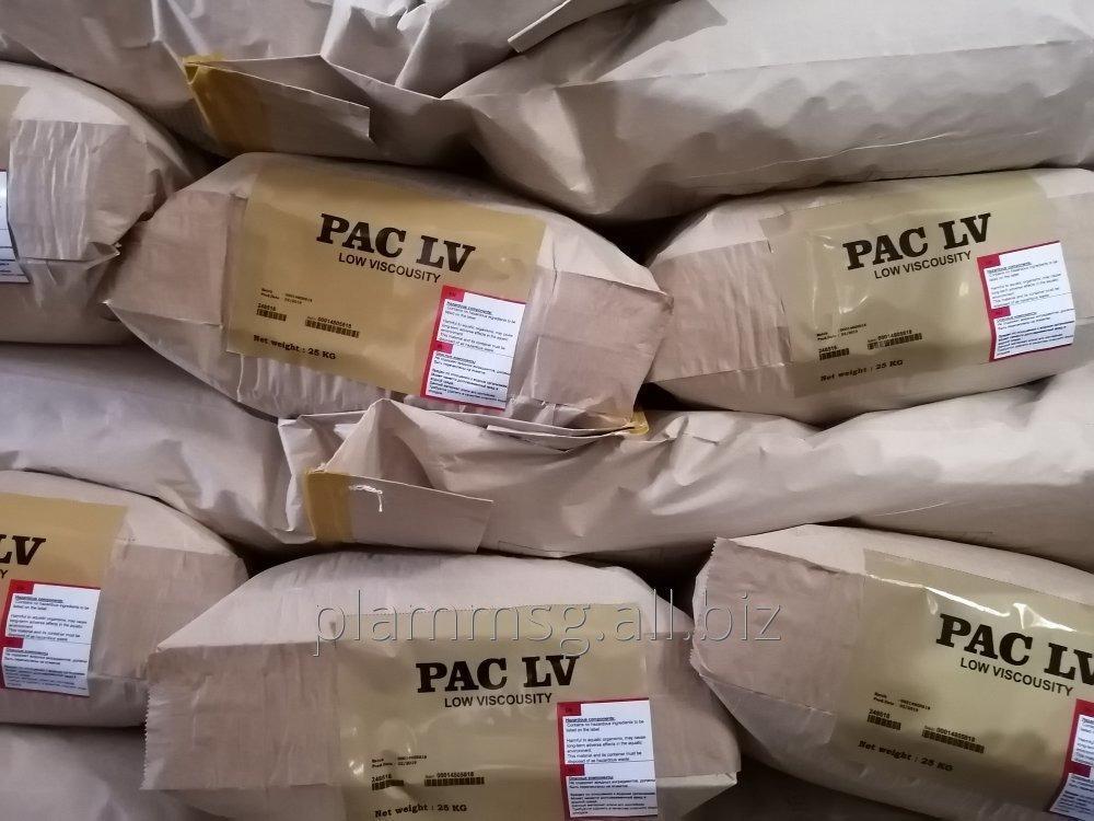 Купить Полианионная целлюлоза PAC LV