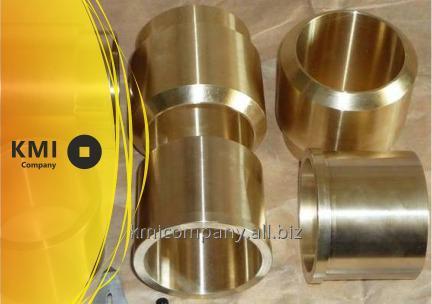 Купить Втулка бронзовая 120х84х100 мм БрА9Ж4, БрАЖ9-4, CuAl9Fe3