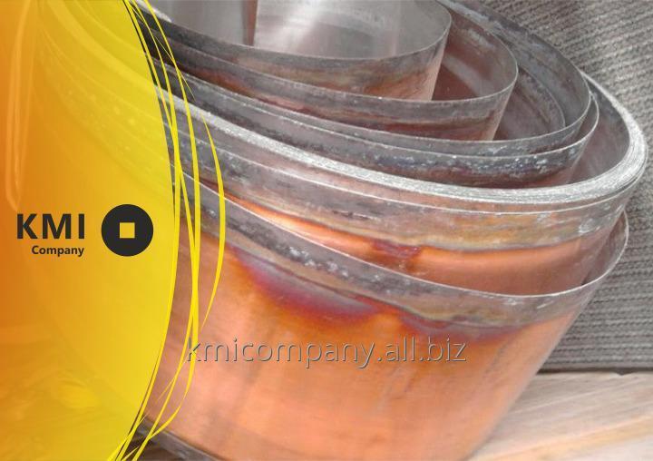 Купить Лента биметаллическая АКЖАК Железо-Силумин-Сталь-Железо-Силумин ГОСТ 10885
