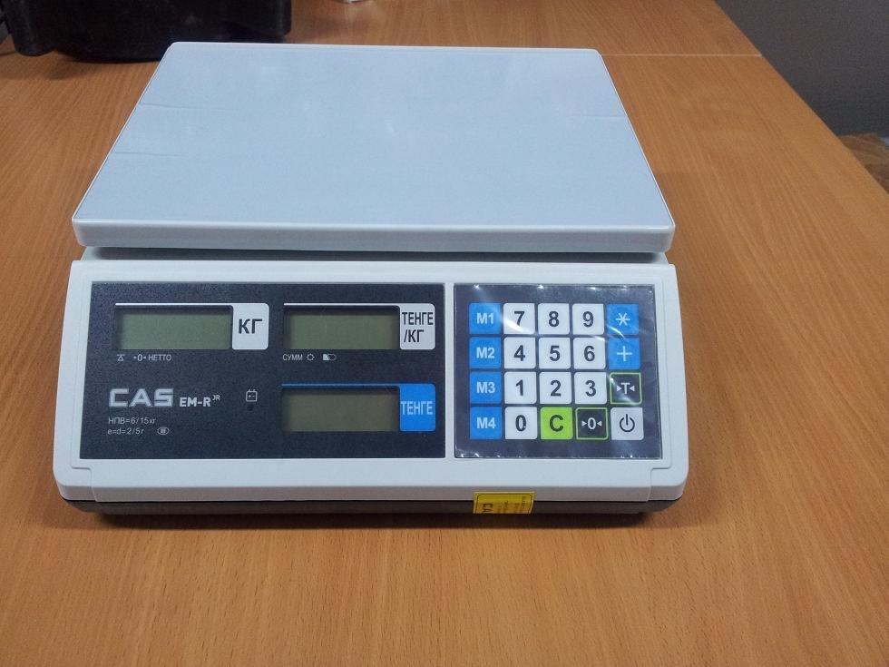 Весы CAS EMR без стойки (пр-во Южная Корея) 18500 тг