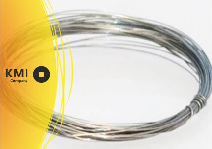 Купить Проволока из прецизионного сплава с высоким электрическим сопротивлением Х20Н80 Нихром 1 мм ГОСТ 12766.1