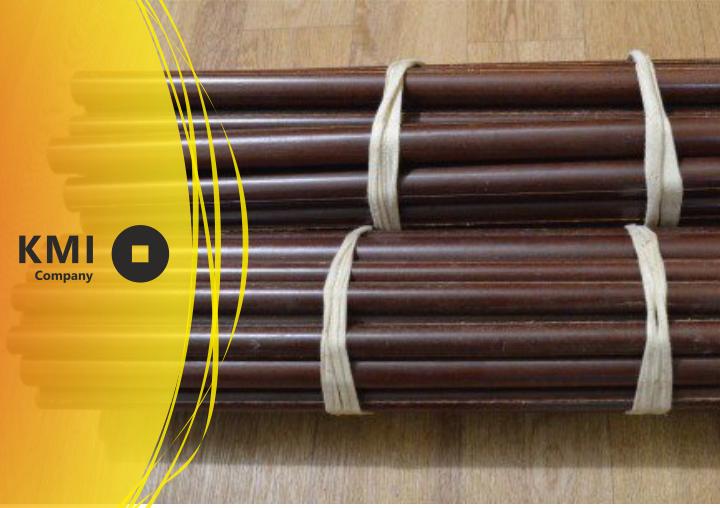 Купить Стержень текстолитовый электротехнический 13х1000 мм ГОСТ 5385 0,2 кг