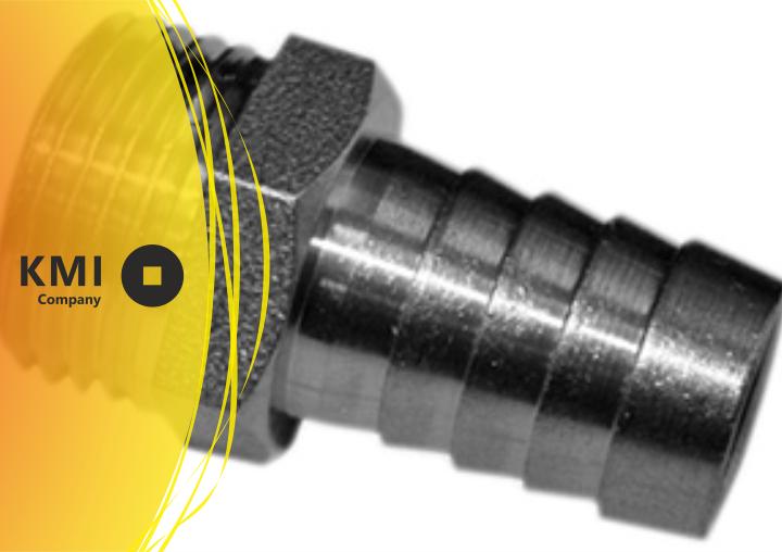Купить Штуцер нержавеющий резьбовой Ду 101,6 мм 08Х18Н10 ,ЭИ119, AISI 304 SMS