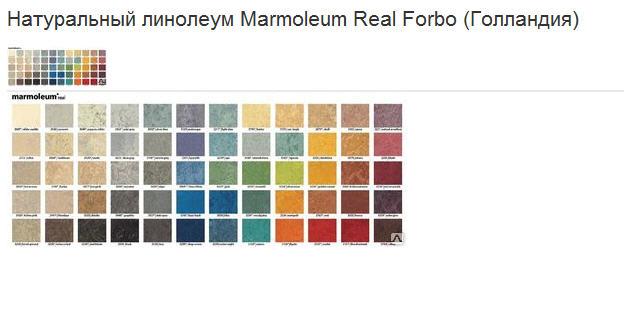 Купить Линолеум натуральный Marmoleum Real Forbo (Голландия)