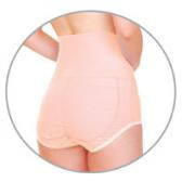 Купить Корректирующее женское белье с биофотонами Бежевый 60