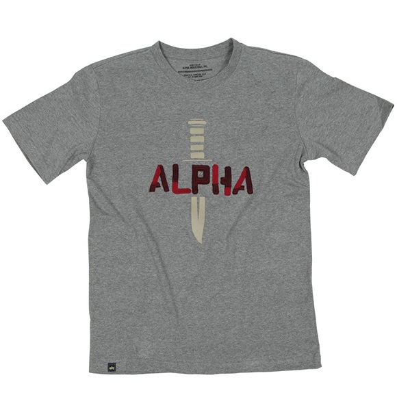 Купить Футболка Alpha Industries ALPHA KNIFE