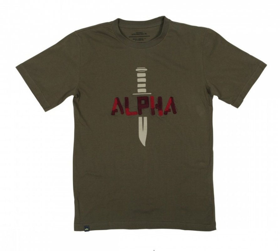 Футболка Alpha Industries ALPHA KNIFE