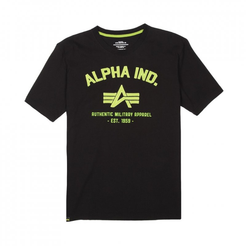 Купить Футболка Alpha Industries AUTHENTIC MILITARY APPAREL