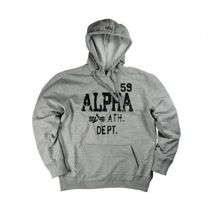 Купить Толстовка Alpha Industries Athletic Department Hoodie