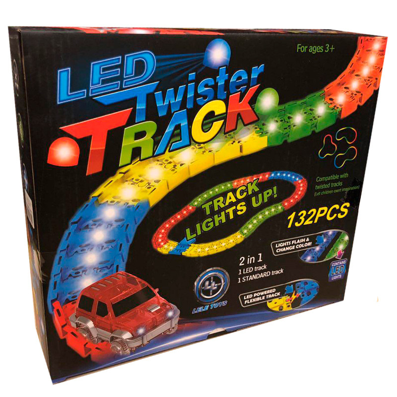 Купить Гибкий трек LED Twister Track 132 деталей
