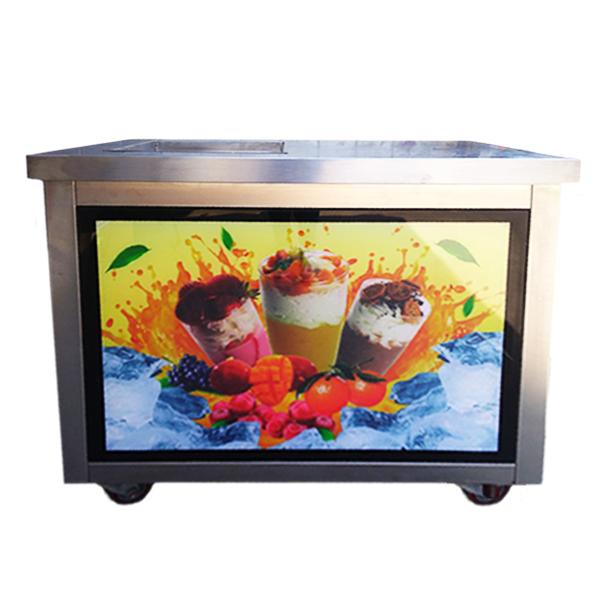 Купить Фризер для ролл мороженого KCB-1F Foodatlas (стол для топпингов)