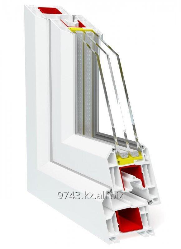Купить Профиль для производства пластиковых конструкций Deceuninck Баутек НЕО 71 мм