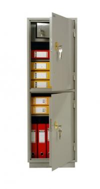 Металлический бухгалтерский шкаф КБ - 23т / КБС - 23т.