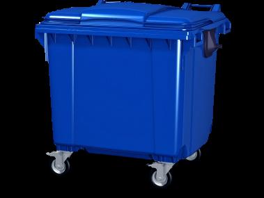 Купить Передвижной мусорный контейнер с крышкой
