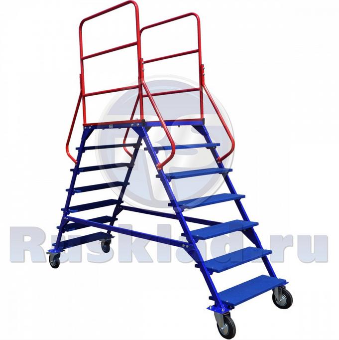 Купить Лестницы передвижные, шесть ступеней