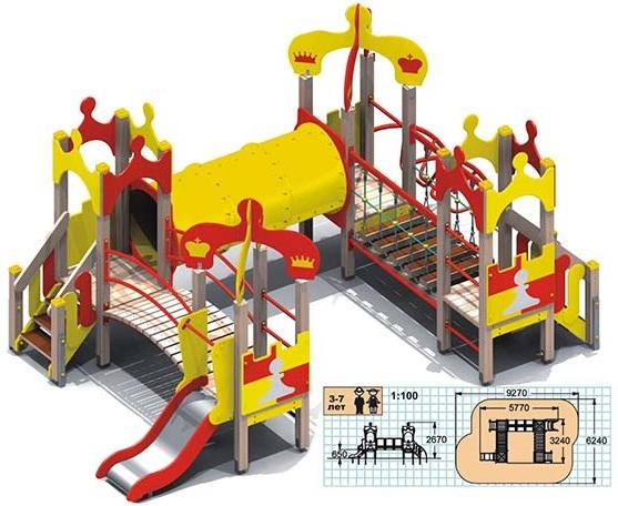 Купить Детские игровые комплексы