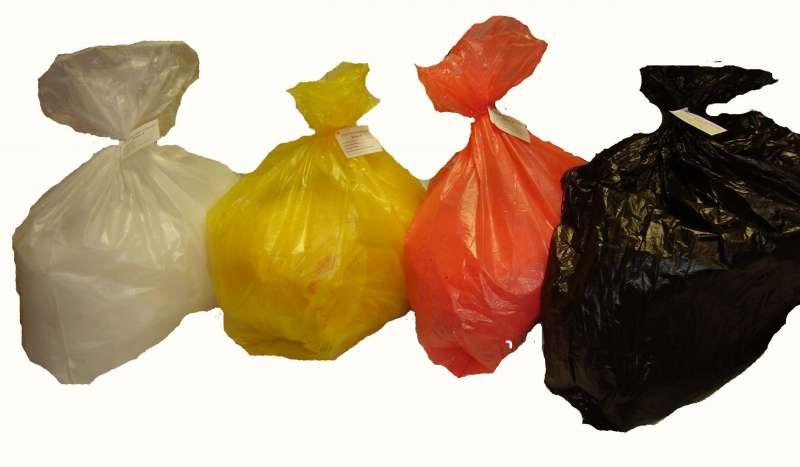 Пакеты для сбора и утилизации медицинских отходов в Алматы, Мешки для утилизации купить в Алматы, Пакеты (мешки) для утилизации медицинских отходов