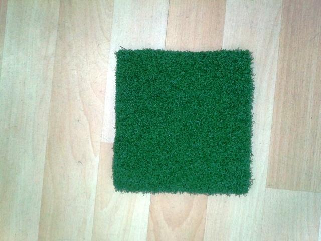 Трава искусственная, фибрилированная мультиспорт 20 мм