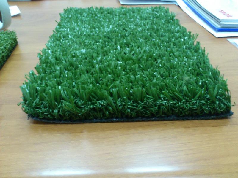 Трава искусственная фибрилированная 40 мм