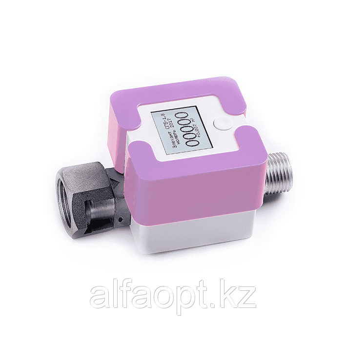 Счетчик газа Элехант СГБ (1,8 Г-ТК; G1/2; Фиолетовый)
